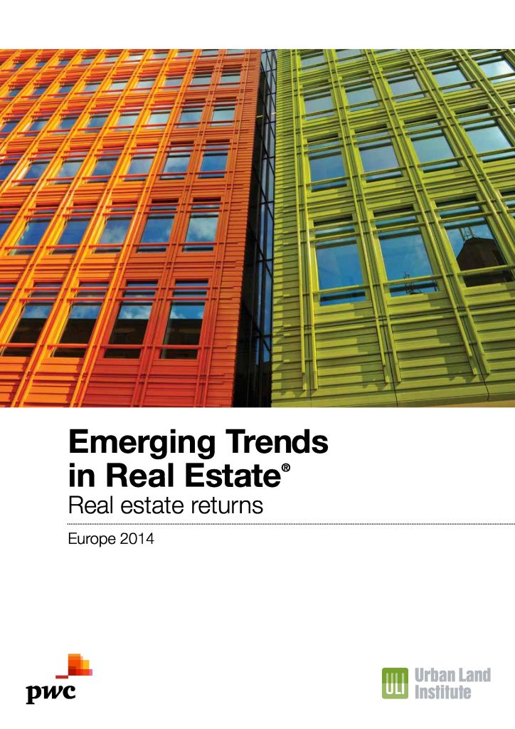 Emerging Trends in Real Estate Europe 2014